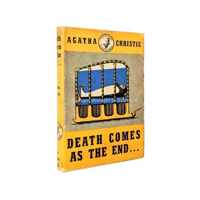 Death Comes As the End by Agatha Christie First Edition The Crime Club by Collins 1945